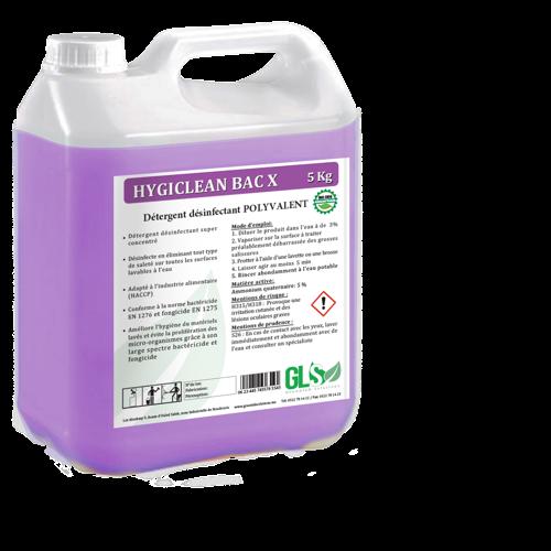 Nettoyant désinfectant liquide à base d'ammonium quaternaire