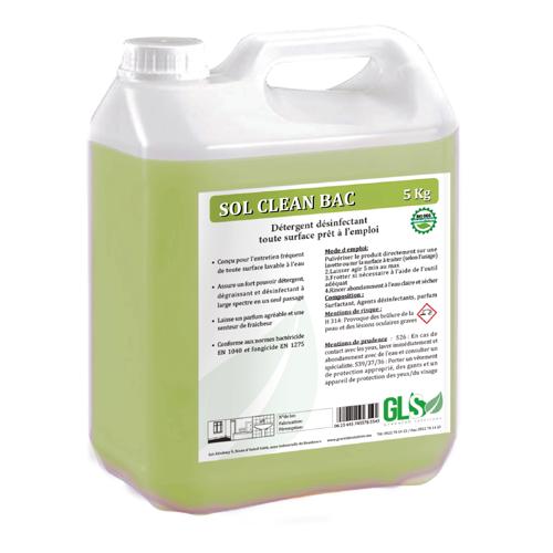 Nettoyant désinfectant pour sol