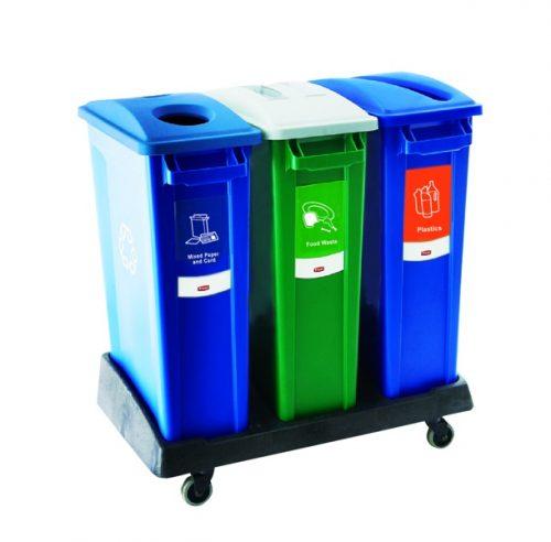 poubelles de tri selectif