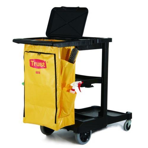 chariot de nettoyage professionel