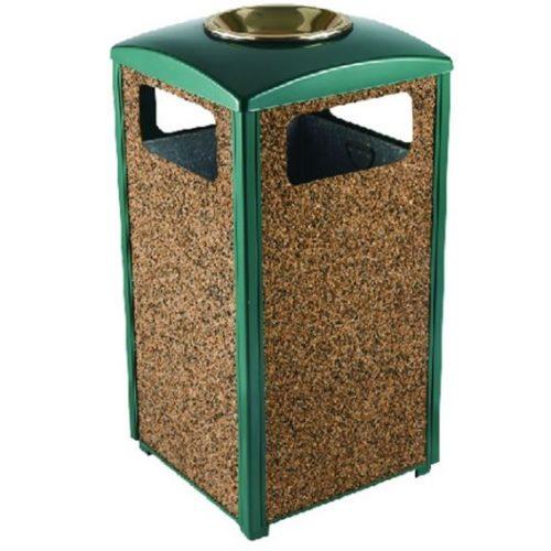 poubelle cendrier d'exterieur pour jardin