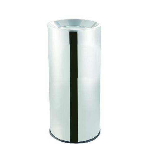 cendrier poubelle en inox